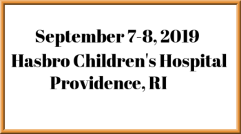 September 7-8, 2019 Providence, RI - Specialty Therapy Source